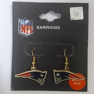 NFL New England Patriots Earrings